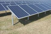 Panel solar — Foto Stock