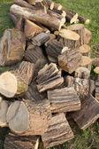 Wood stocks — Stock Photo