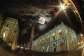 Vicenza by night — Stock Photo