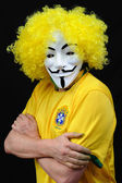 Brazilian Anonymous — Stock Photo