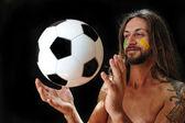 Eu amo futebol — Foto Stock