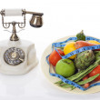 Calling nutritionist - Stock Photo