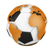World Soccer — Stock Photo