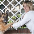 Veterinarian friend — Stock Photo