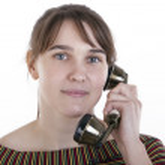 Talking on phone — Stock Photo #14005343