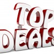 Top deals — Stock Photo
