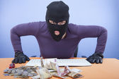 The look of the thief — Stock Photo