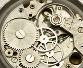 Clockwork close up — Stockfoto