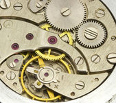 Clockwork close up — Stock Photo