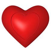 Heart frame — Stock Photo