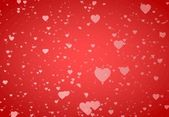 Background from St. Valentine's Day hearts — Stock Photo