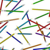 Seamless texture from pencils — Stock Photo