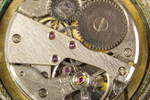 Mechanism of hours close up — Stock Photo