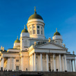 Helsinki Cathedral, Finland — Stock Photo