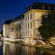 Leineschloss at night, Hannover, Germany — Stock Photo #13356900