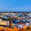 Panorama of Hannover, Germany — Stock Photo