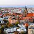Marktkirche and Hannover City, Germany — Stock Photo #18385657