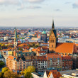 Marktkirche and Hannover City, Germany — Stock Photo