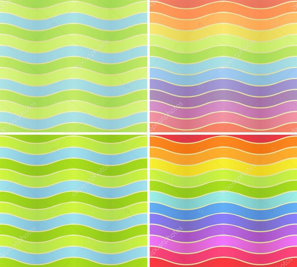 波浪线 — 图库矢量图像08