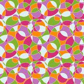 Colored cut circles — Stock Vector