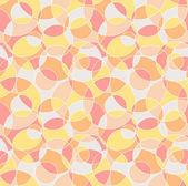 Orange cut circles — Stock Vector