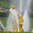 Samson Fountain of the Grand Cascade in Peterhof Palace, Russia — Stock Photo