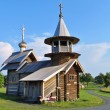 Archangel Michael wooden chapel on Kizhi island, Russia — Stock Photo