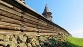 Churchyard on the island of Kizhi, Karelia, Russia — Stock Photo