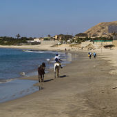 Beach of Mancora, Peru — Stock Photo