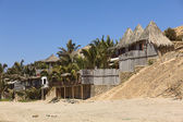 Accommodation in Mancora, Peru — Stock Photo