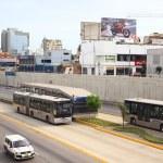 Постер, плакат: Metropolitano Bus in Lima Peru