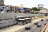 Metropolitano Bus in Lima, Peru — Stock Photo