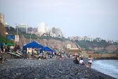 The Coast of Miraflores, Lima, Peru — Stock Photo