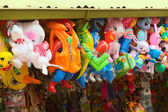 Toys at Stand in Banos, Ecuador — Stock Photo