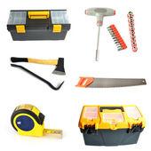 Collage tools — Stock Photo
