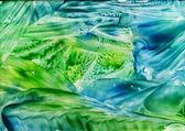 Acuarela abstracta patrón azul como fondo — Foto de Stock