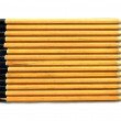 Pencils on Isolated White Background — Stock Photo