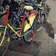 Bicycles, symbols of Amsterdam — Stock fotografie