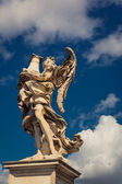 Angel statue in Rome, Italy — Stock Photo
