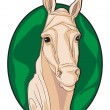 Stock Photo: Horse clipart
