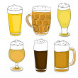 Saint patrick beer pints — Stock Photo #16971189
