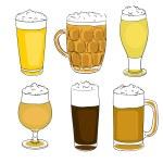 Saint patrick beer pints — Stock Photo