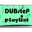 Dubstep playlist stamp - Stockfoto