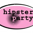 Hipster party - Stock fotografie