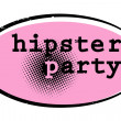 Hipster party — Stock Photo