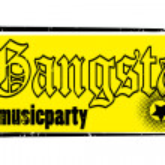 Gangsta stamp — Stock Photo