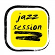 Jazz session stamp - ストック写真