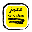 Jazz session stamp - Stockfoto