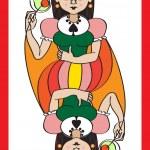������, ������: Queen spades