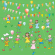 Foto Stock: Kids party